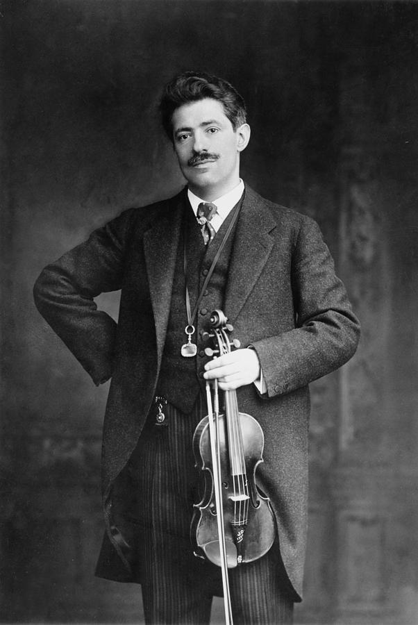 History Photograph - Fritz Kreisler 1875-1962 Austrian by Everett