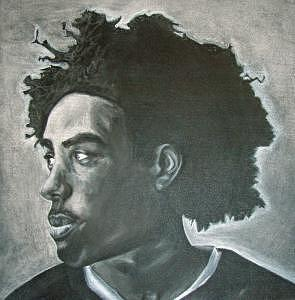 Afro Drawing - Fro by Tiffany Everett