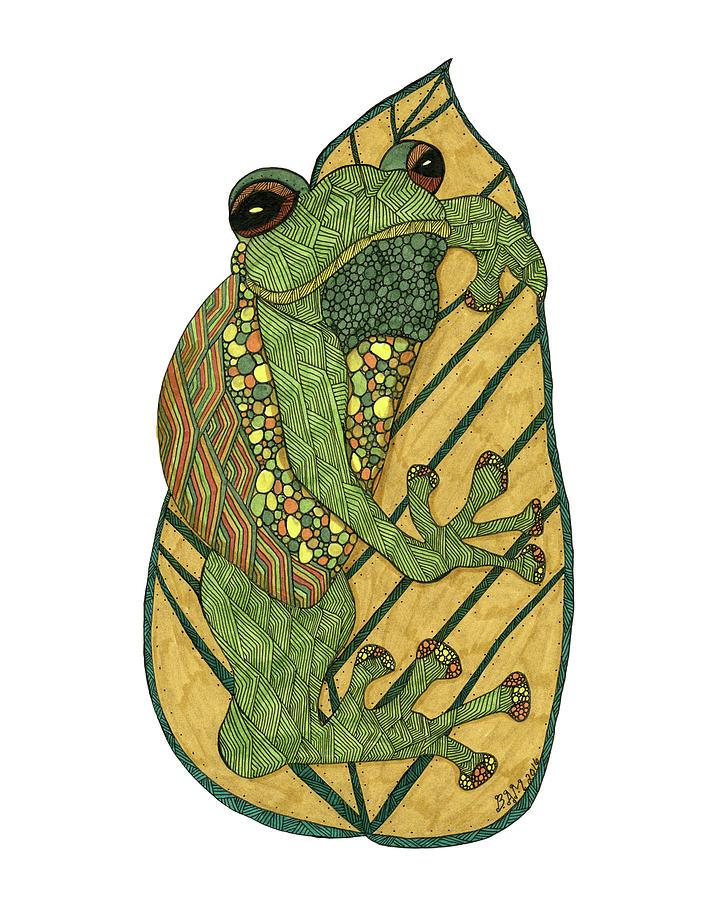 Frog by Barbara McConoughey