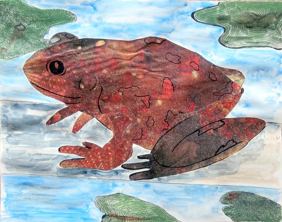 Frog On A Log by Audrey Bunchkowski