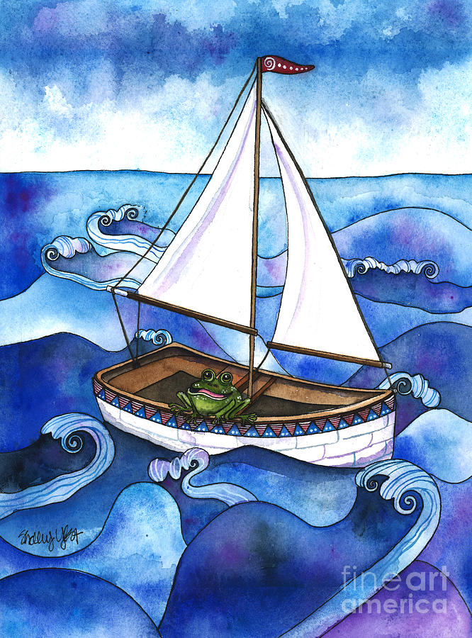 Froggy Goes Sailing by Shelley Wallace Ylst