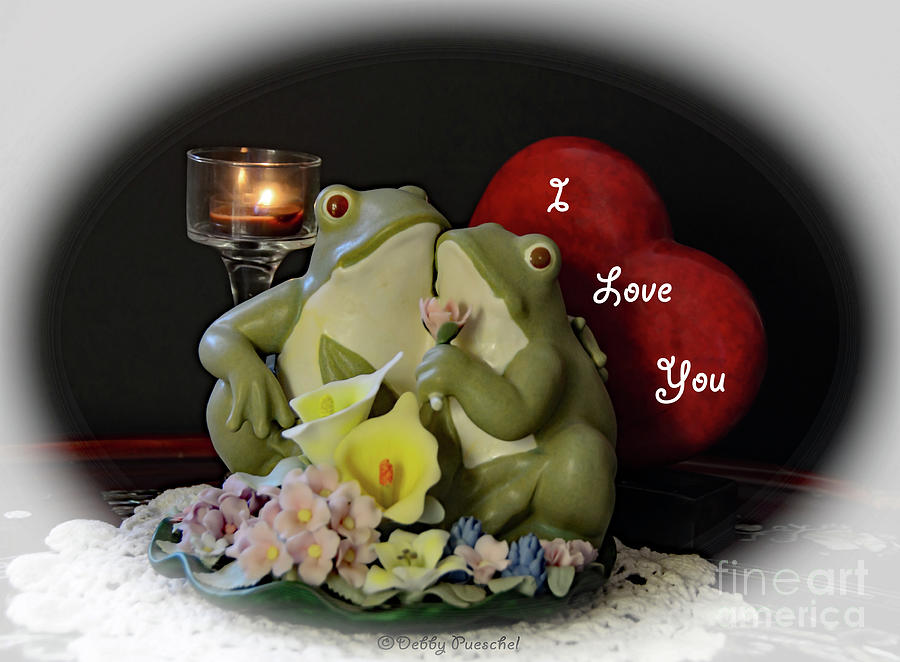 Froggy Love Photograph