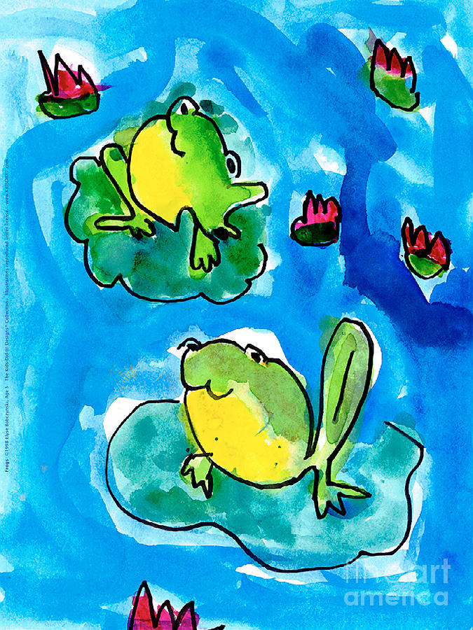 Frogs by Elyse Bobczynski Age Five