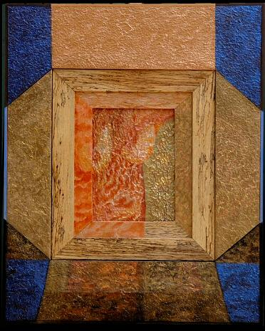 Multi Culture Painting - Froissement Structural by Almaury