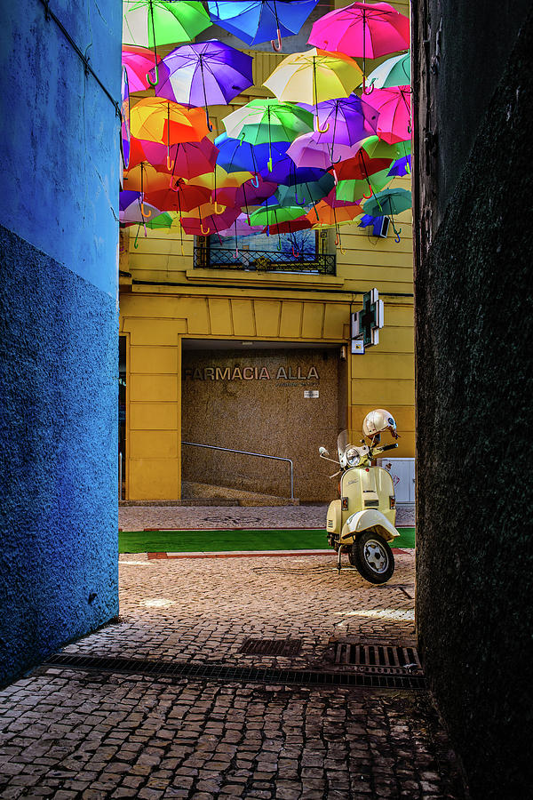 From A Dark Alley To A Colorful Street Photograph