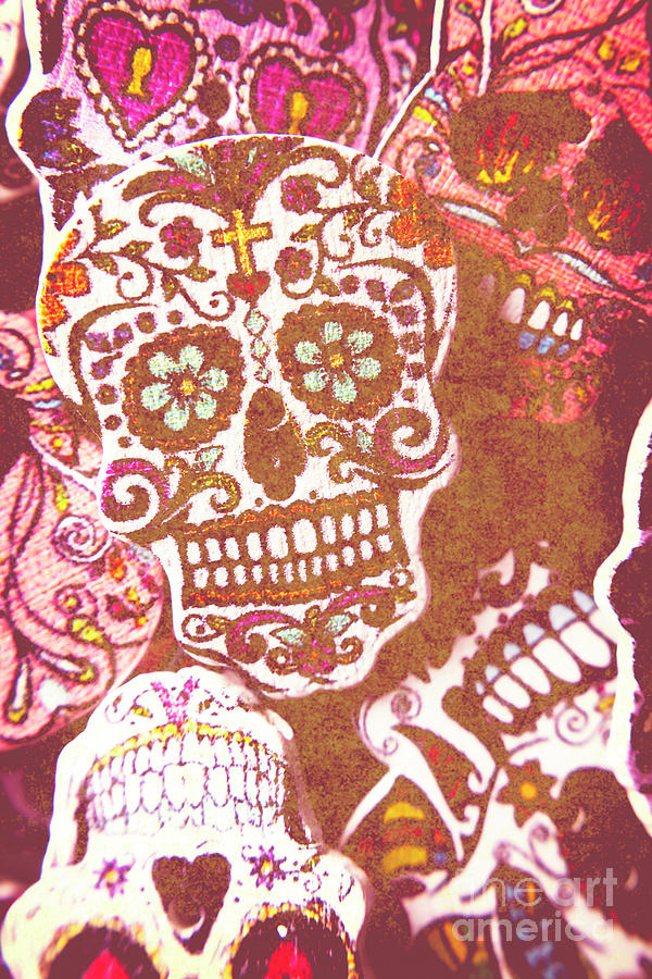Voodoo Photograph - From A Tribal Design by Jorgo Photography - Wall Art Gallery