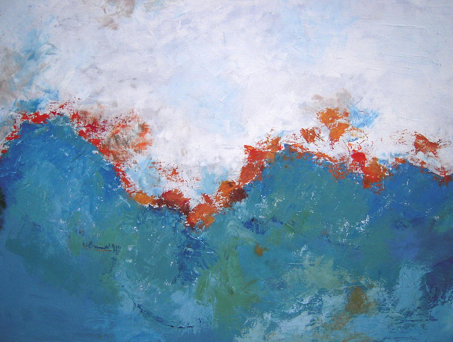 From Above Painting by Kate Tesch
