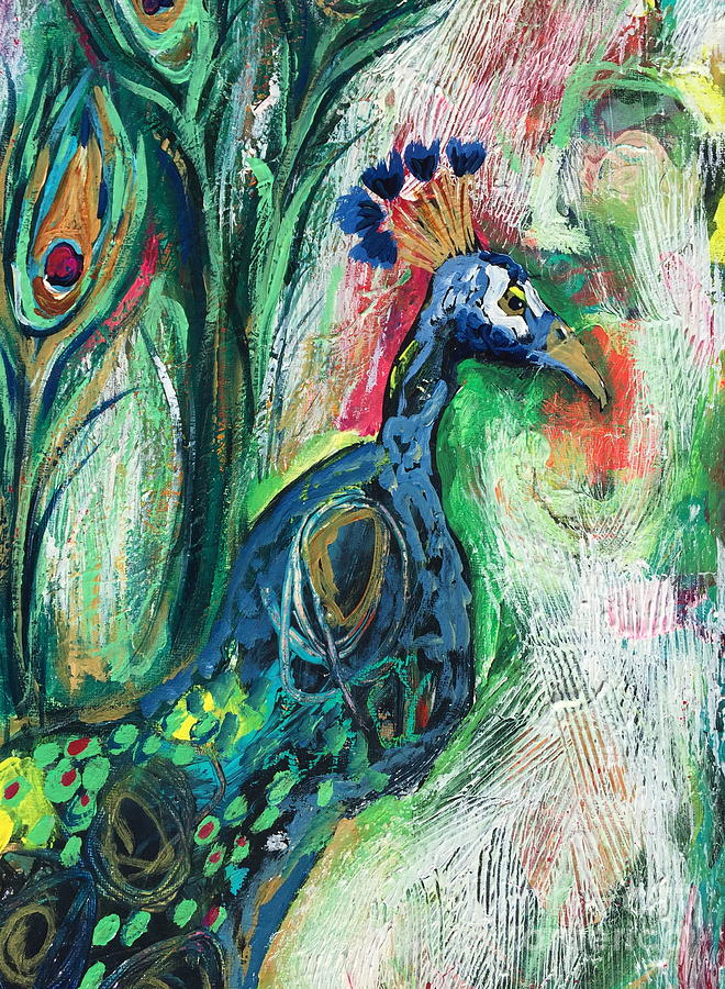 From Abstract to Peacock by Kim Heil
