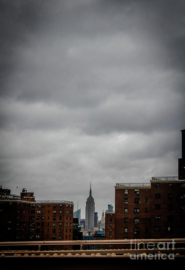 Empire State Building Photograph - From Brooklyn by Victory Designs
