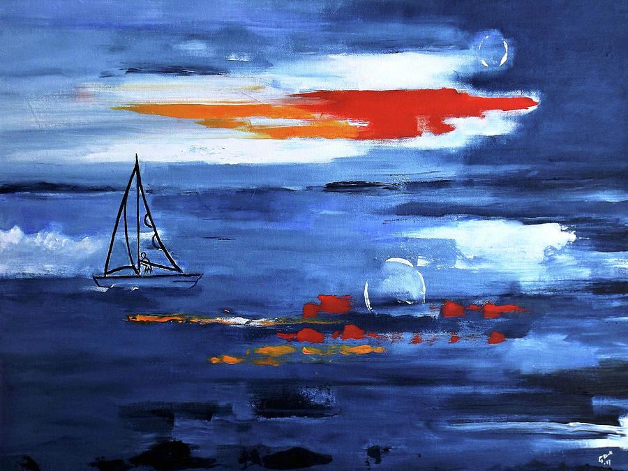 From Cleveland Point by Gloria Dietz-Kiebron
