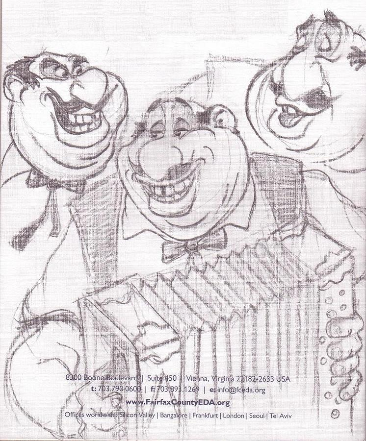 Disney Drawing - From Lady And The Tramp by Alex Klein