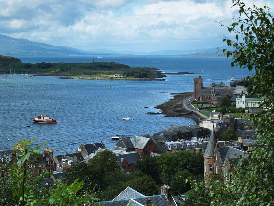 Oban Photograph - From Mccaigs Tower by Steve Watson