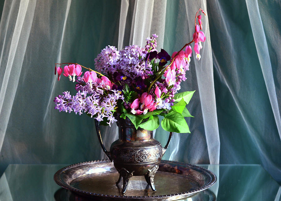 Lilacs Photograph - From My Garden  by Wendy Blomseth
