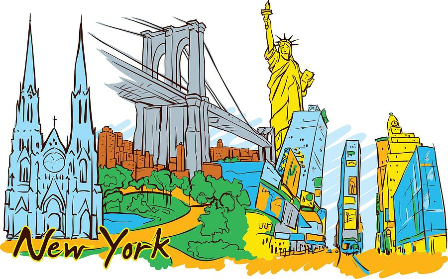 From Old To New York Digital Art by Stanley Mathis