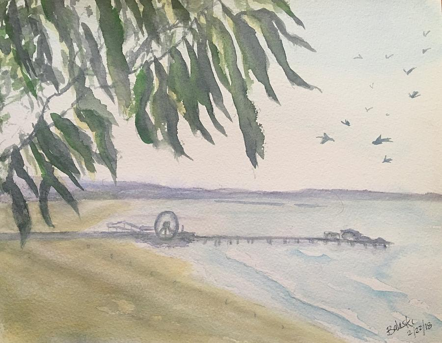 From Park To Pier Painting by Belinda Balaski