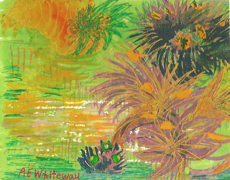 Exotic Painting - From Tahiti With Love by Anne-Elizabeth Whiteway