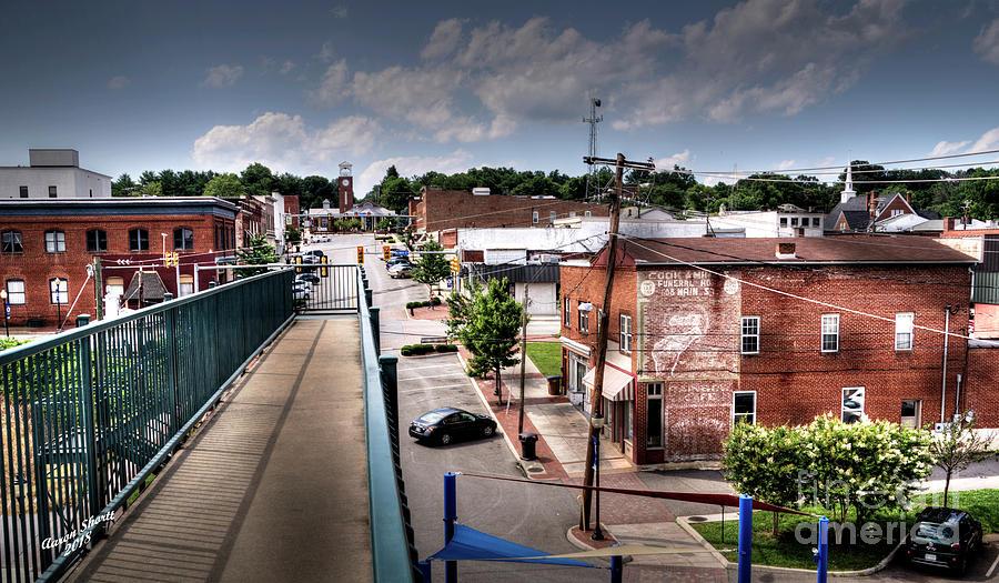 Bridge Photograph - From The Foot Bridge by Aaron Shortt