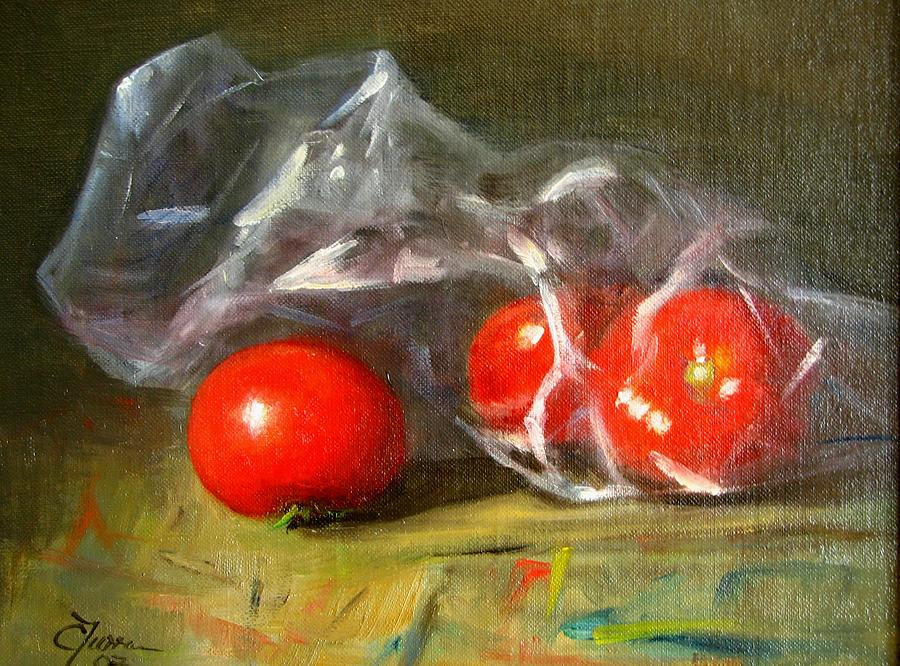 Still Life Painting - From The Grocery Store by Cary  Jurriaans