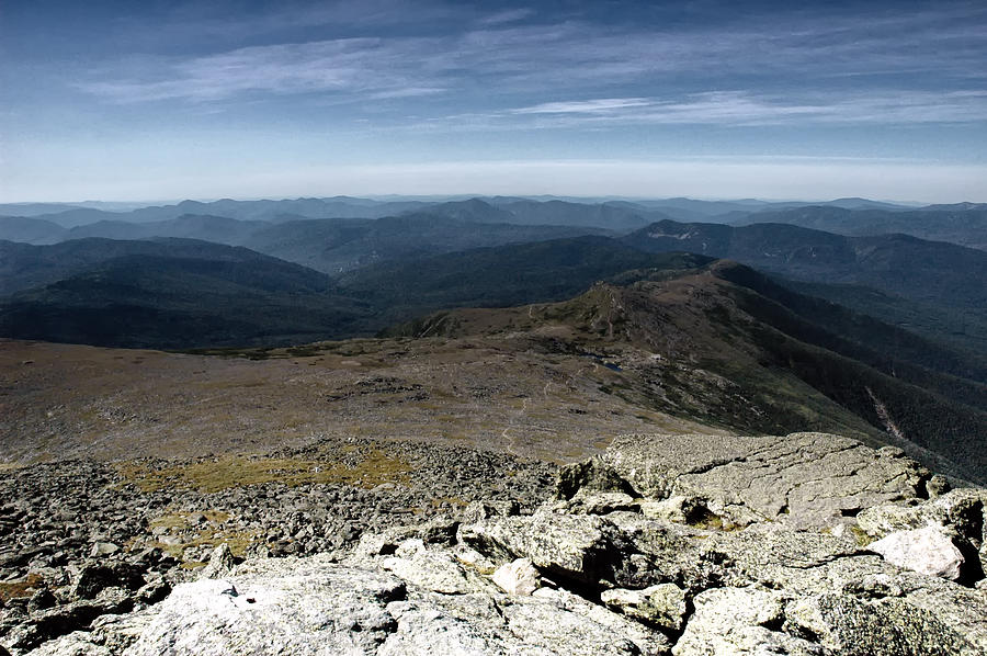 Mountains Photograph - From The Summit by Ross Powell