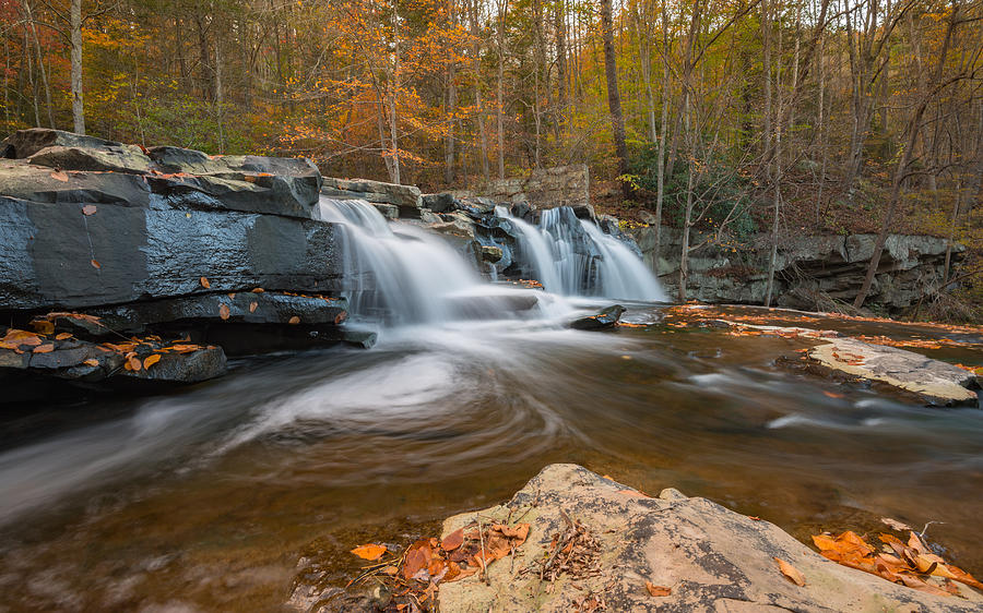 From the Top Brush Creek Falls by Rick Dunnuck