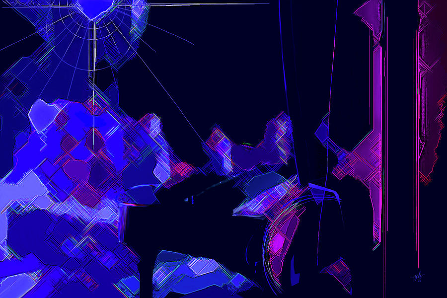 Theatre Digital Art - From The Wings by Gina Harrison
