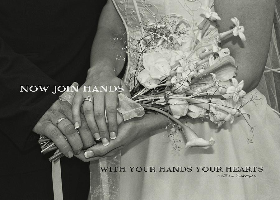 Bride Photograph - From This Day Forward Quote by JAMART Photography