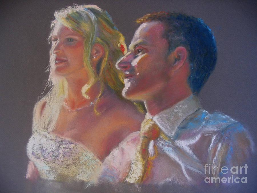 Wedding Painting - From This Moment by Shirley Leswick