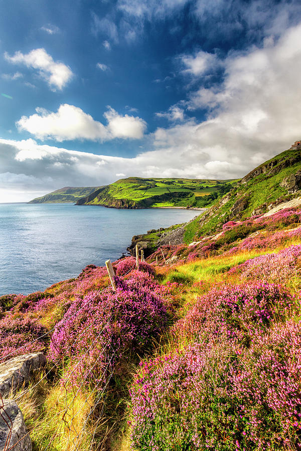 Antrim Photograph - From Torr To Cushendall by Glen Sumner