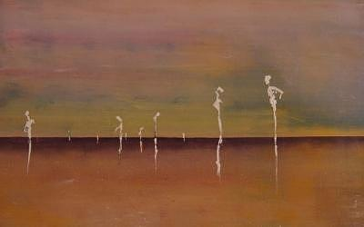 Abstract Painting - From Whence We Came by Michael Magee