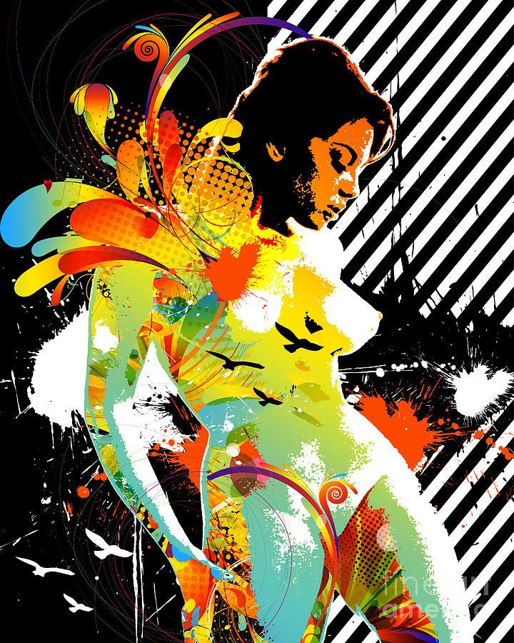 Nostalgic Seduction Digital Art - From Within by Chris Andruskiewicz