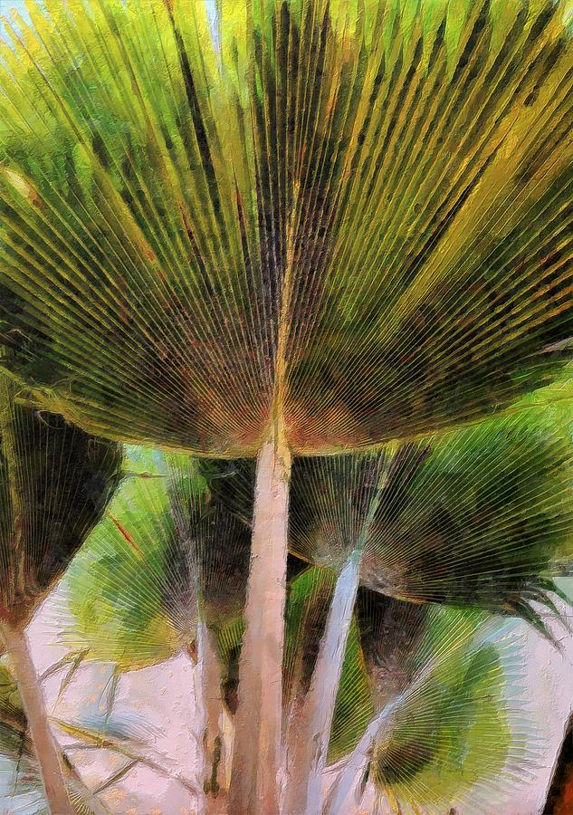 Frond Painting - Frond by Lelia DeMello