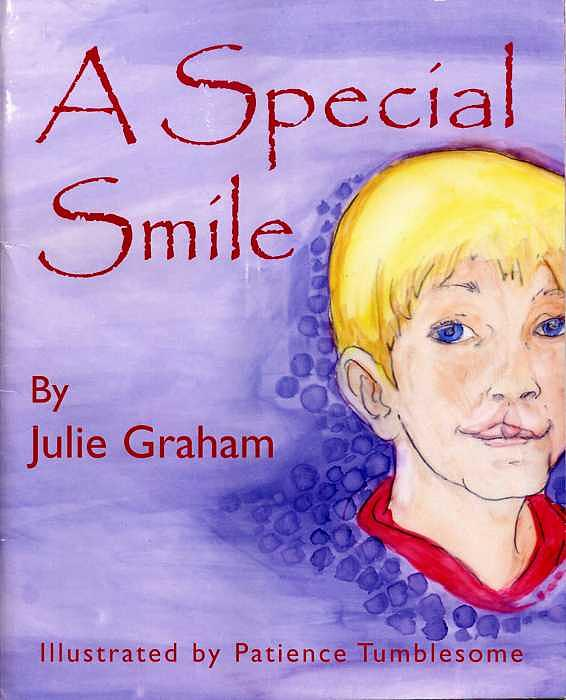 Front Cover Of A Special Smile Painting by Patience Tumblesome