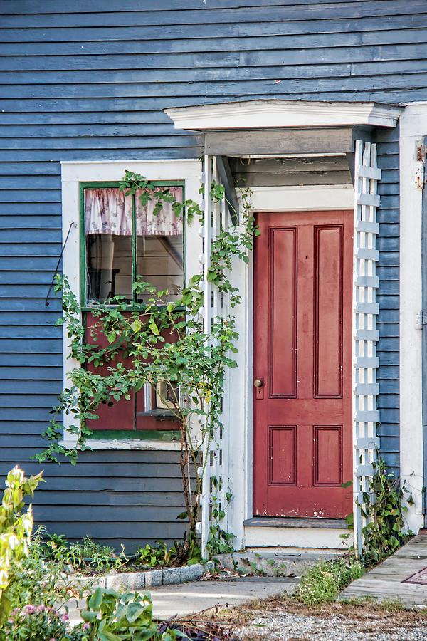 Door Photograph - Front Door Three by Suzanne Bauer Photography