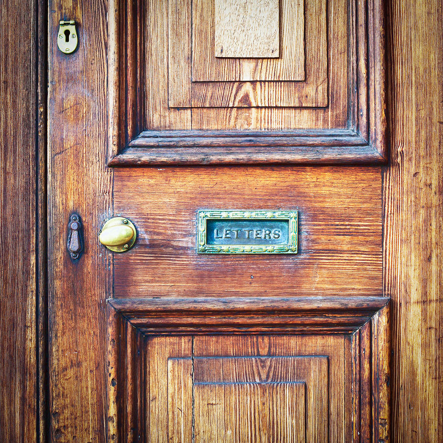 Abstract Photograph - Front Door by Tom Gowanlock