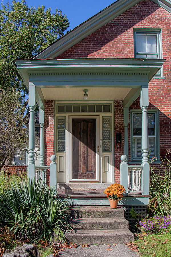 Doors Photograph - Front Door Two by Suzanne Bauer Photography