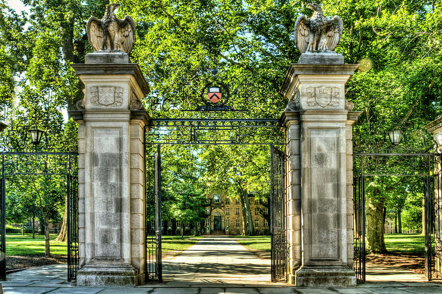 Front Gate At Princeton Universary Photograph