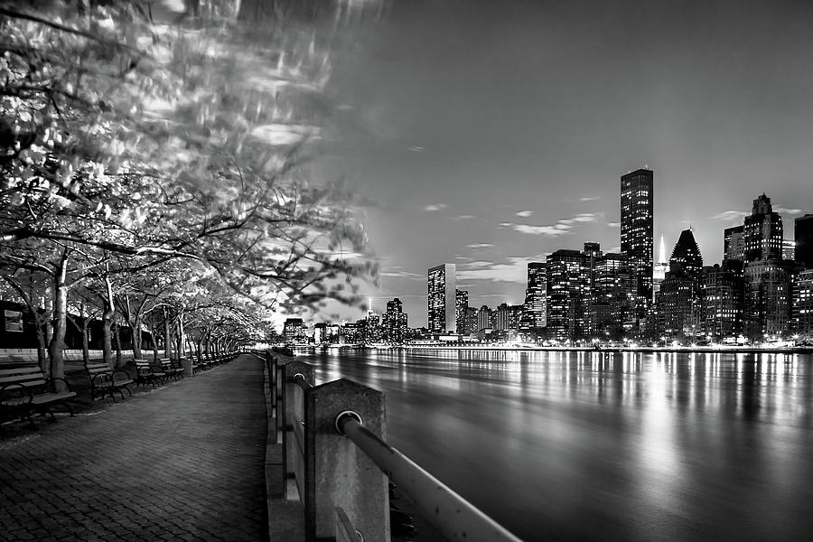 One World Trade Center Photograph - Front Row Roosevelt Island by Az Jackson