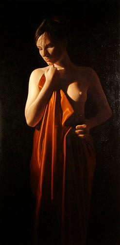 Female Painting - Front by Toby Boothman
