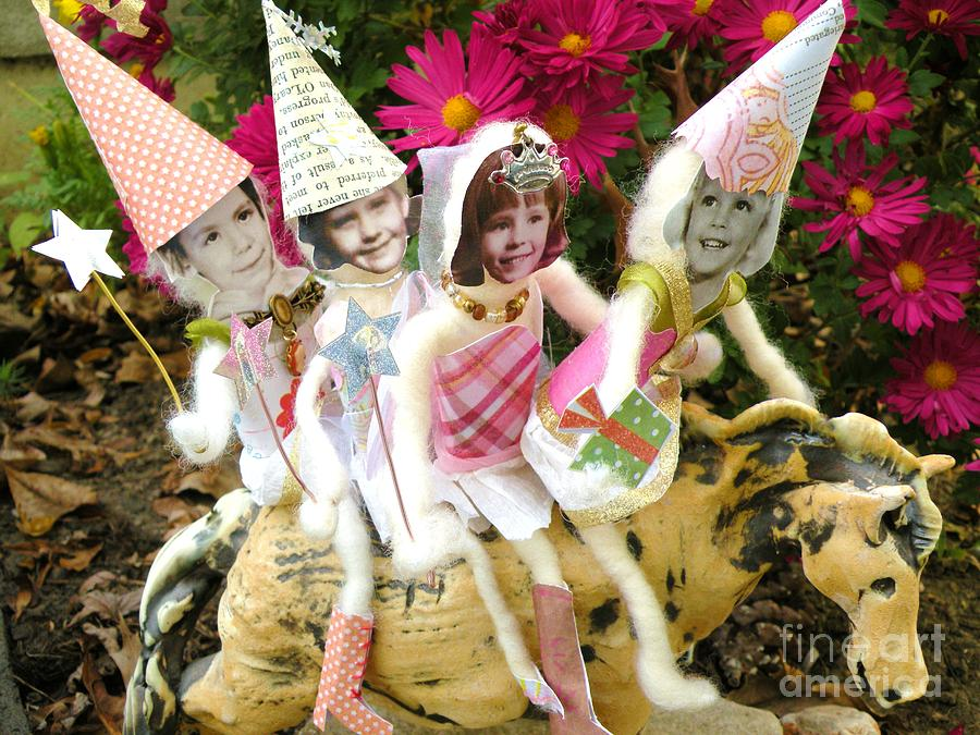 Fairy Photograph - Frontier Faries by Christine Belt