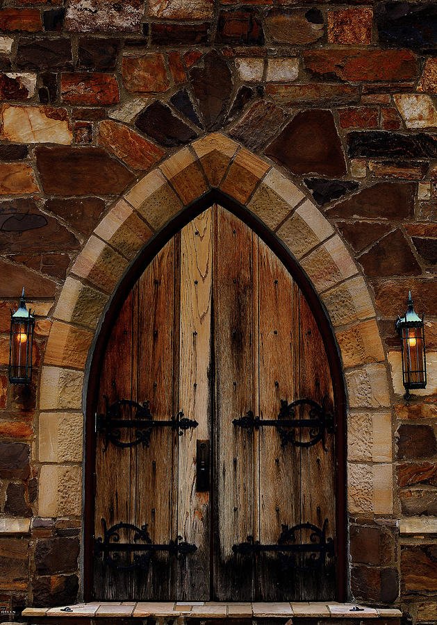Berry College Photograph - Frost Chapel Doorway by Jason Blalock