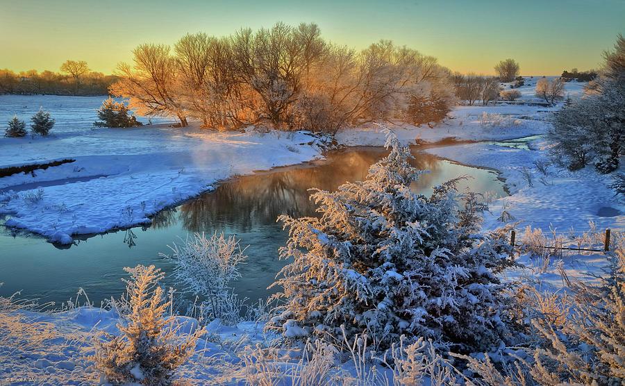 Frosty Morning by Bruce Morrison