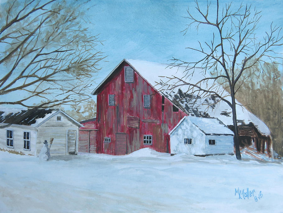 Frosty on the Farm by Marcus Moller