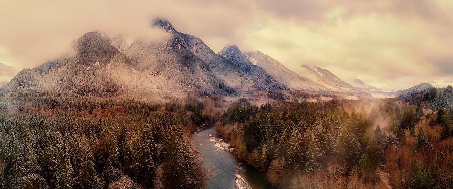 Washington Photograph - Frosty Winter Wonderland by Mountain Dreams