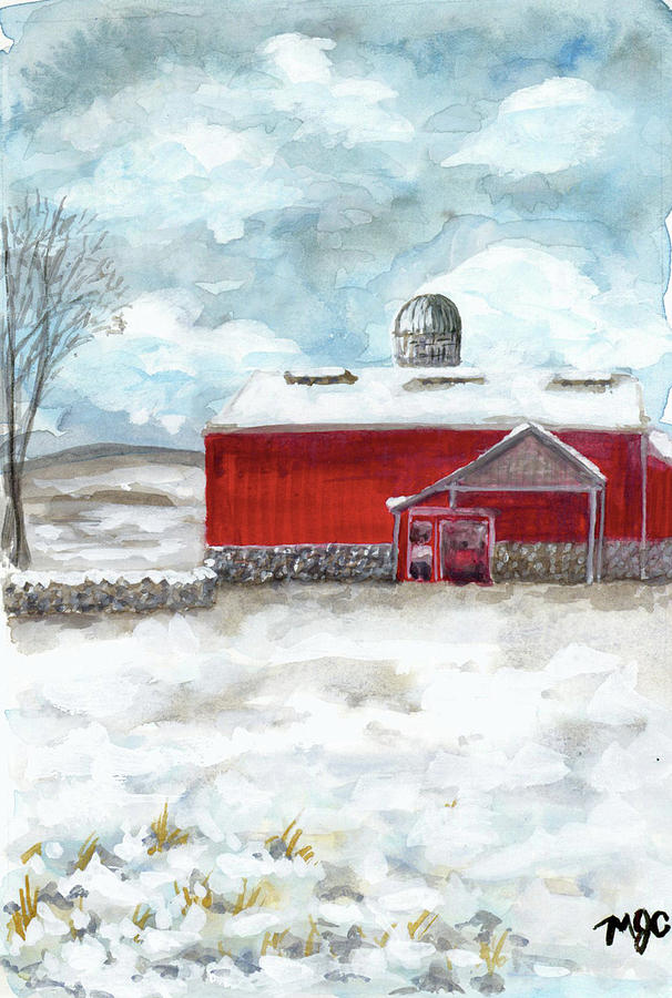 Frozen Barn  by Meghan Coyle