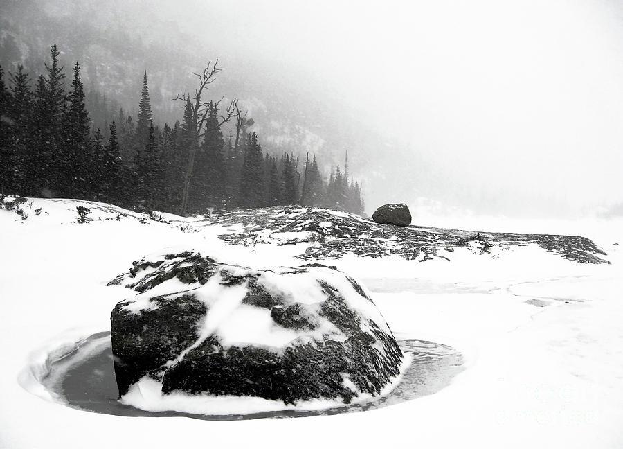 Frozen Photograph by Jennie MacDonald