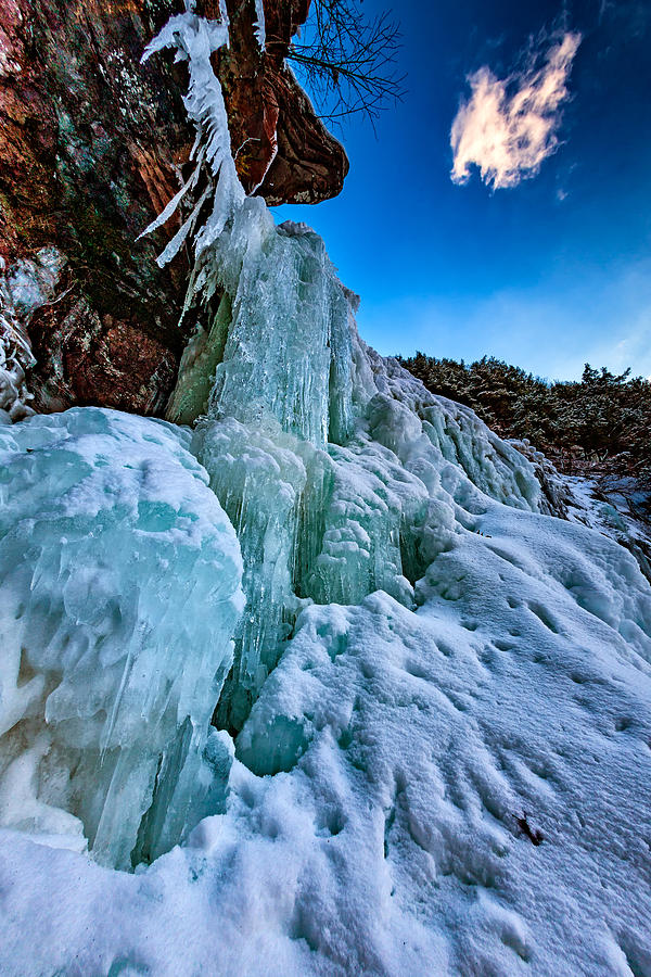 Kaaterskill Falls Photograph - Frozen Kaaterskill Falls by Rick Berk