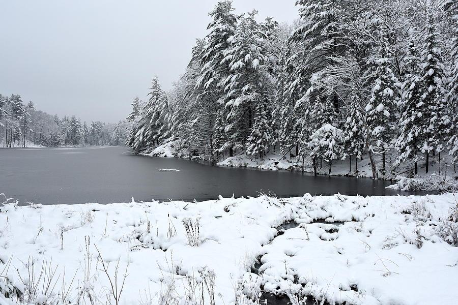 Landscape Photograph - Frozen Lake 2 by Sergei Dratchev