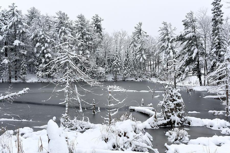 Landscape Photograph - Frozen Lake 3 by Sergei Dratchev