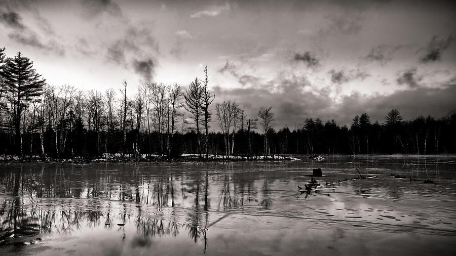 Landscape Photograph - Frozen Landscape  by Edward Myers