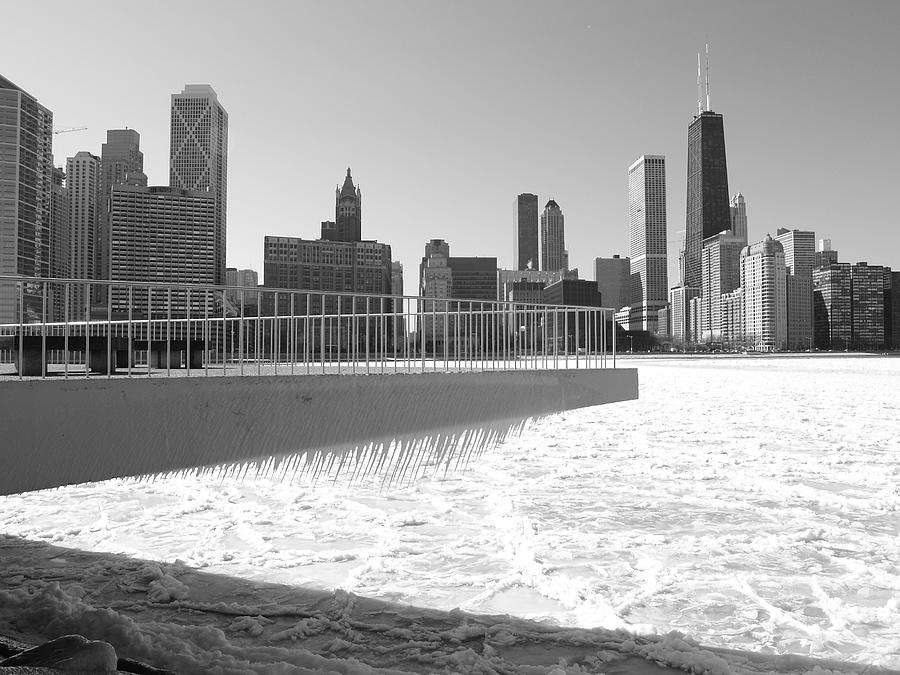 Chicago Photograph - Frozen Over by Jacob Stempky